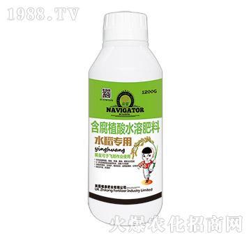 水稻專用含腐植酸水溶肥-英皇-植康肥業