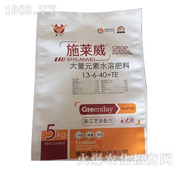 大量元素水溶肥13-6-40+TE-施莱威-鑫亚