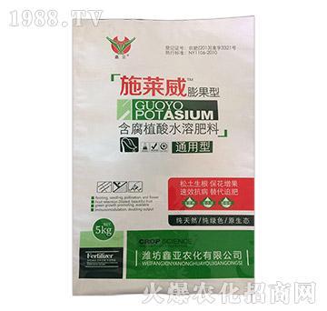通用膨果型含腐殖酸水溶肥-施莱威-鑫亚