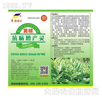黄精抗病增产灵(袋)-绿田地