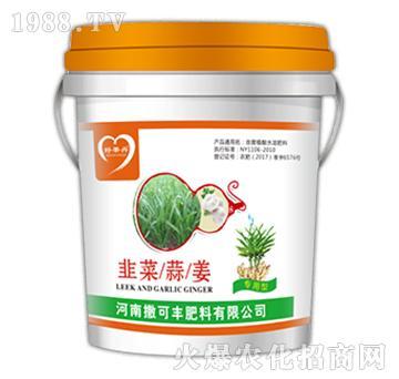 含腐植酸水溶肥料-韭菜/蒜/姜专用型-撒可丰