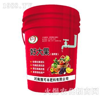 含腐植酸水溶肥料-好大果(通用型)-撒可丰
