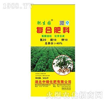 复合肥料20-10-10-肥生园-中磷化肥