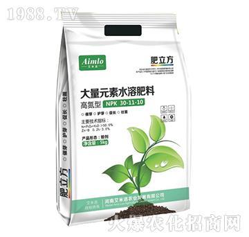 高氮型大量元素水溶肥料30-11-10-肥立方-艾米诺