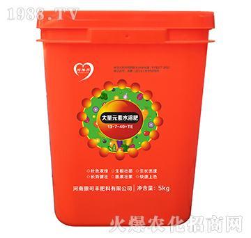 大量元素水溶肥13-7-40-好果丹-撒可丰