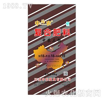中农三铵复合肥料18-