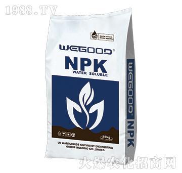 25kg大量元素水溶肥20-10-30+TE-WEGOOD-�f瑞谷德