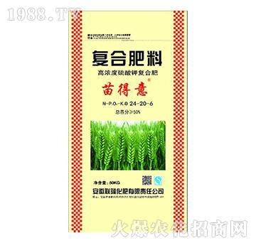 复合肥料24-20-6(黄)-苗得意-联隆