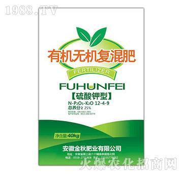 硫酸钾型有机无机复混肥-金秋肥业