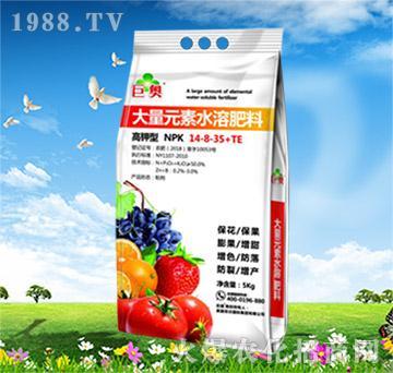 高钾型大量元素水溶肥料14-8-35+TE-菲沃国际