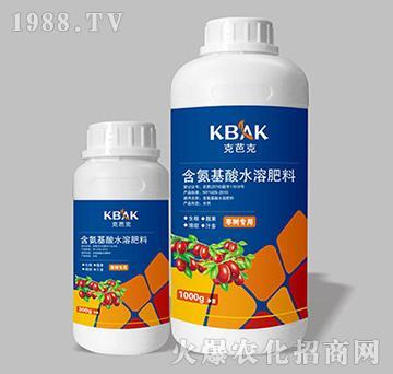枣树专用含氨基酸水溶肥