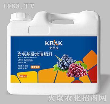 葡萄专用含氨基酸水溶肥料(壶)-克芭克