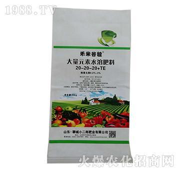 大量元素水溶肥20-20-10+TE-禾米谷粒-小二郎