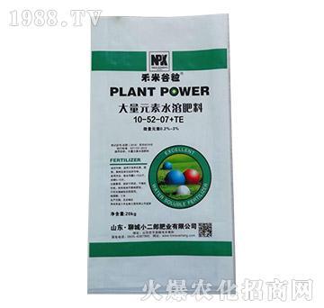 大量元素水溶肥10-52-07+TE-禾米谷粒-小二郎