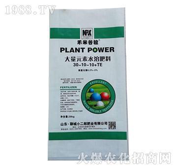 大量元素水溶肥30-10-10+TE-禾米谷粒-小二郎