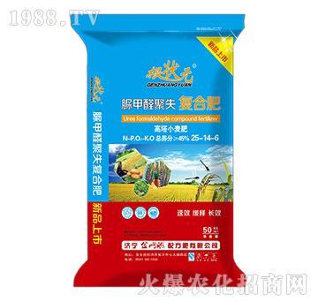 高塔小麦脲甲醛聚失复合肥25-14-6-根壮元-金网联