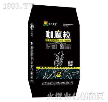 黄腐酸海藻碳基水溶菌肥(黑)-咖魔粒-东升生物