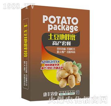 土豆高产套餐-土豆地胖墩-康丰农业