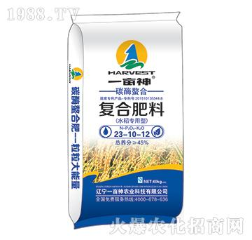 水稻专用碳酶螯合复合肥