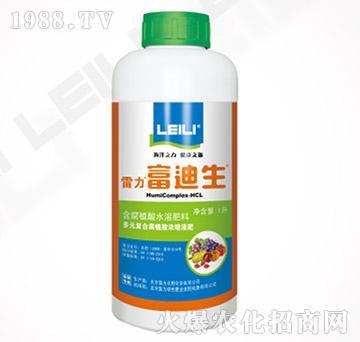 多元复合腐植酸浓缩有机液肥-富迪生-雷力