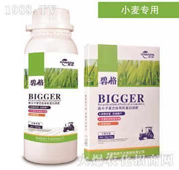 小麦专用高分子复合肽有机蛋白液肥-碧格-瀚森农业