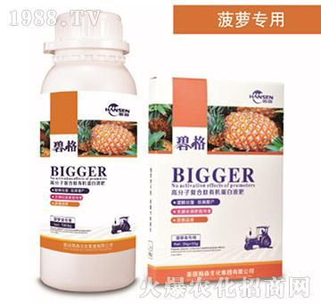菠萝专用高分子复合肽有机蛋白液肥-碧格-瀚森农业