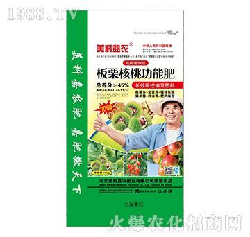 纯硫酸钾型长效缓释掺混肥料22-11-12-板栗核桃功能肥-美科益农