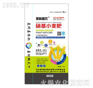 长效缓释掺混肥料20-20-5-硝基小麦肥-美科益农