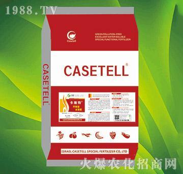 20kg高磷型水溶肥21-21-21+TE-卡施特