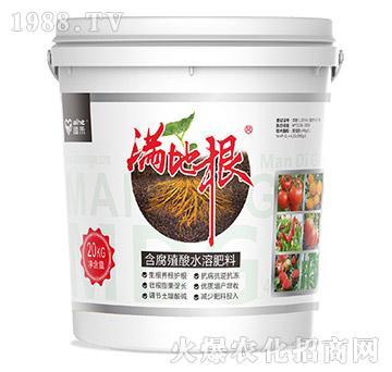 含腐殖酸水溶肥料(20kg)-满地根-爱禾农业