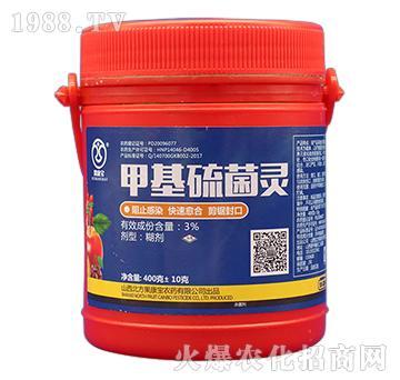 3%甲基硫菌灵(400g)-果康宝