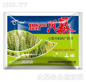 小麦水稻高产套餐-增产风暴-天润恒业
