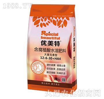 含腐植酸水溶肥料12-6-30+HA4-优美特