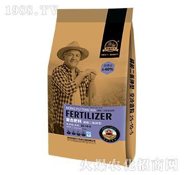磷酸二氢钾型复合肥料25-10-5-农富天下