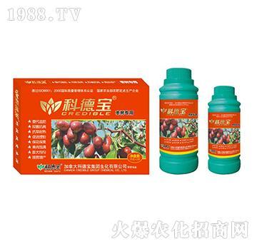 枣树专用营养增产调理剂-科德宝