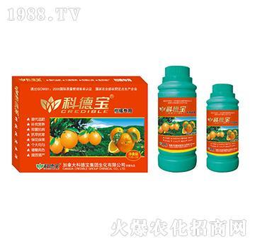 柑橘专用营养增产调理剂-科德宝