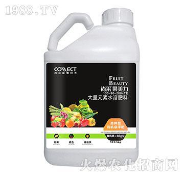 大量元素水溶肥130-90-280+TE-尚采果美力