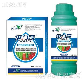 辣椒�S煤�氨基酸水溶肥料-伊力奇-科德��