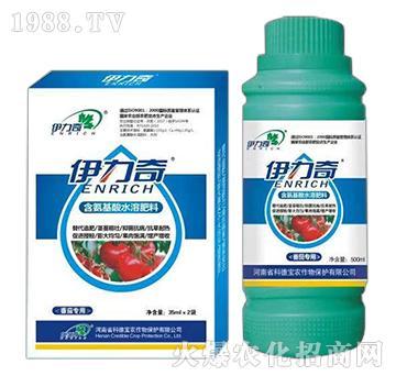 番茄�S煤�氨基酸水溶肥料-伊力奇-科德��