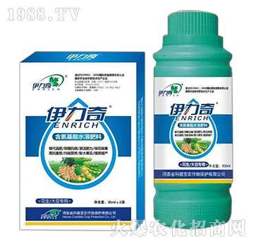 花生、大豆�S煤�氨基酸水溶肥料-伊力奇-科德��