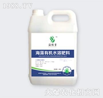 高氮型海藻有机水溶肥料-金裕丰