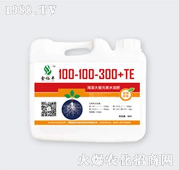 海藻大量元素高钾肥100-100-300+TE-金裕丰