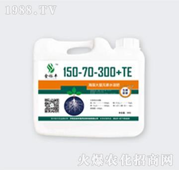 海藻大量元素高氮高钾肥150-70-300+TE-金裕丰
