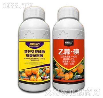 地衣芽孢杆菌・细黄链霉菌+乙蒜・碘-柑橘统治-科利农
