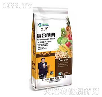 功能型复合肥料26-10-6+15-十环-利农肥业