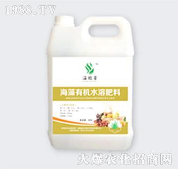 高钾型海藻有机水溶肥料-金裕丰