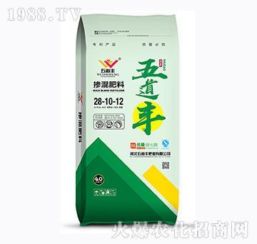 硅基・碳化酶掺混肥料28-10-12-五道丰