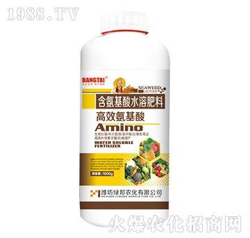 含氨基酸水溶肥料-高效氨基酸-绿邦农化