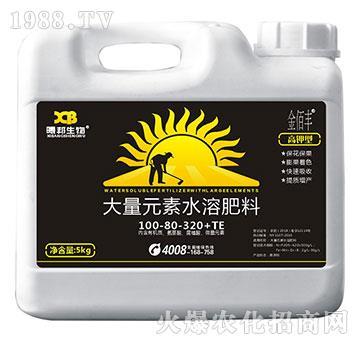 高钾型大量元素水溶肥料100-80-320+TE-曦邦生物