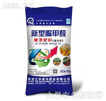 通用型45%脲甲醛缓释复混肥料-农家乐